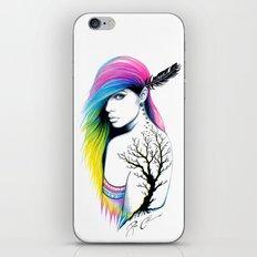 -Stadt Indianer- iPhone & iPod Skin