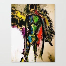 Lynn, the Angel of Balance Canvas Print