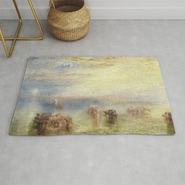 Approach to Venice - Joseph Mallord William Turner Rug
