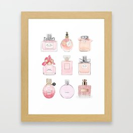 Perfume Collection Framed Art Print