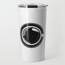 Cup of coffee with stars Travel Mug