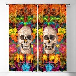 Harvest Skulls 1 Blackout Curtain