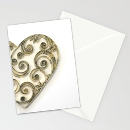 Vintage Sheet Music Heart Stationery Cards