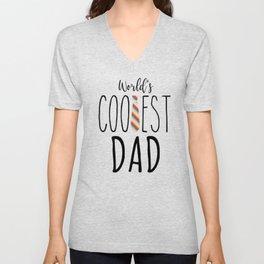 World's Coolest Dad Unisex V-Neck