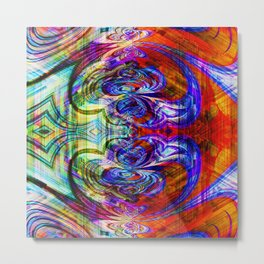 abstract fn Metal Print