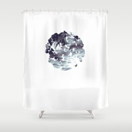Sustained Shower Curtain