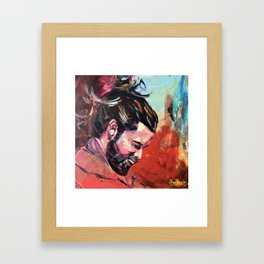 Menbun Framed Art Print