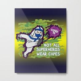 Frontliner Superheros Metal Print