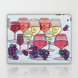 Wine and Grapes Laptop & iPad Skin