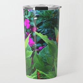 Pleural Floral Travel Mug