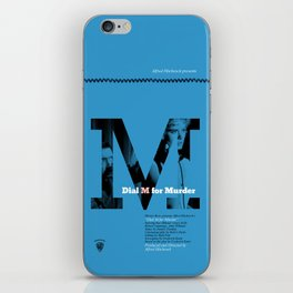 Hitchcock: Dial M For Murder iPhone Skin