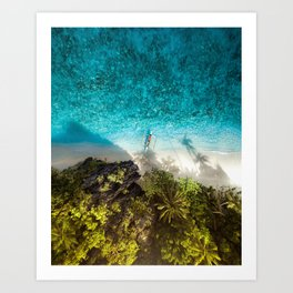 All About The Tropics Art Print