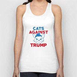 Cats Against Trump Unisex Tank Top