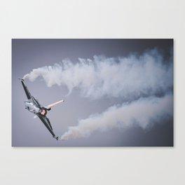 Fighter jet Canvas Print