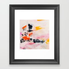 Light As A Feather Framed Art Print