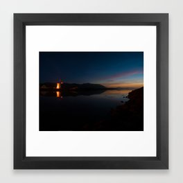 Blennerville Windmill 3am Sunday morning Framed Art Print