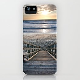 Steps to the Ocean iPhone Case