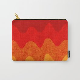 Under the Influence (Marimekko Curves) Hot Stuff Carry-All Pouch