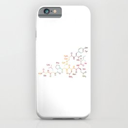 Oxytocin Hormone Of Love iPhone Case
