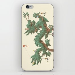 The Night Gardener - The Dragon Tree iPhone Skin