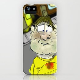 The Fast Food Generation iPhone Case
