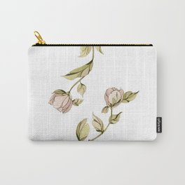 Dancing Roses Carry-All Pouch