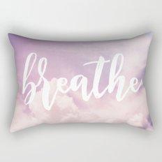 MANTRA SERIES: Breathe Rectangular Pillow