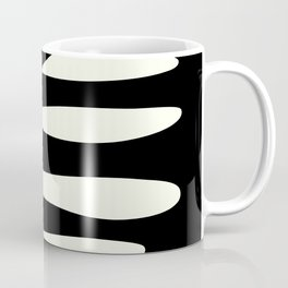 Abstract Composition in Black and White Coffee Mug