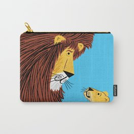 Listen To The Lion Carry-All Pouch
