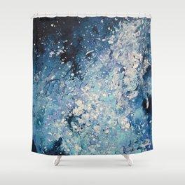 Greenland ice Shower Curtain