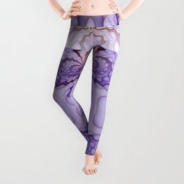 Intricate Scrolls Leggings