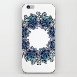 Indigo Bloom Portuguese Tiles – Gaia iPhone Skin