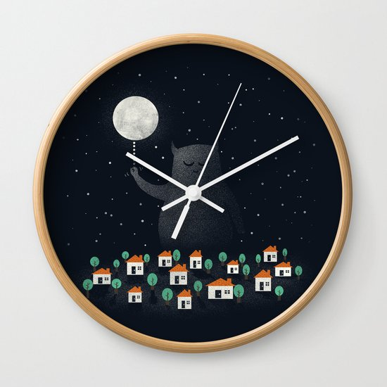 Good Night, Sleep Tight Wall Clock