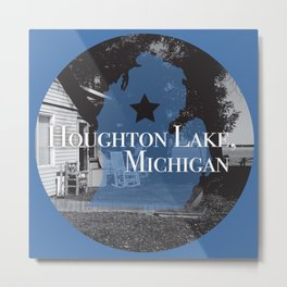 Houghton Lake, MI Metal Print