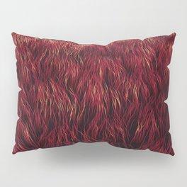 Red Grass Pillow Sham