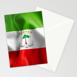 Equatorial Guinea Flag Stationery Cards