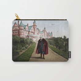 Sir Samuel Samoyed at the Resort Carry-All Pouch