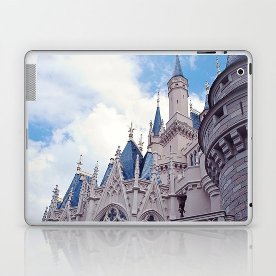 The wild blue yonder  Laptop & iPad Skin