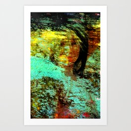 Pond Pippin Art Print