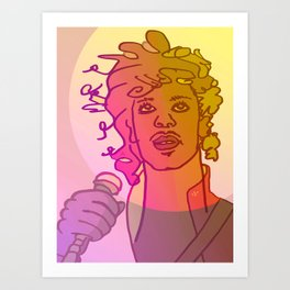 Dear Prince / Stay Wild Collection Art Print