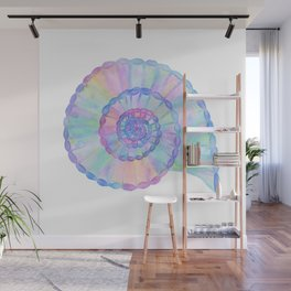 Spiral Seashell Wall Mural