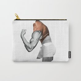 """HANDSOME BICEP"" BY ROBERT DALLAS Carry-All Pouch"