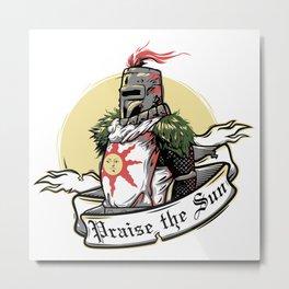Praise the sun 3 Metal Print