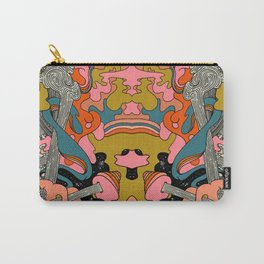 Warm Petals & Salty Shells Carry-All Pouch