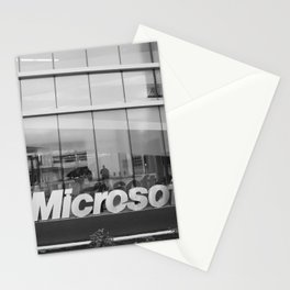 Microsotf Sign Building Stationery Cards