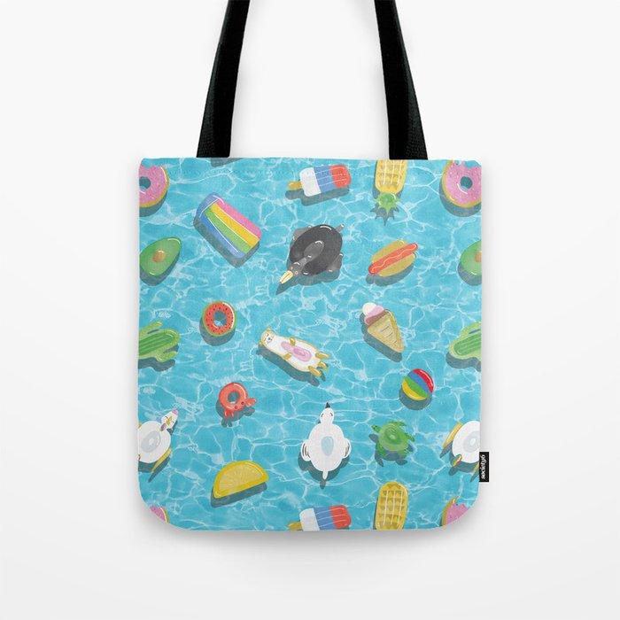 Pool Floaties Tote Bag