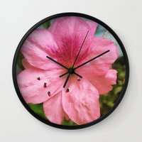 iggy azalea Wall Clocks featuring Azalea by Geni