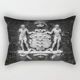 Coat of Arms for the Board of Ordinance Tower of London England Rectangular Pillow