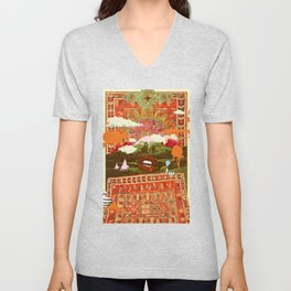 MORNING PSYCHEDELIA Unisex V-Neck