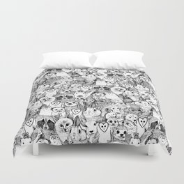 love and hugs Duvet Cover